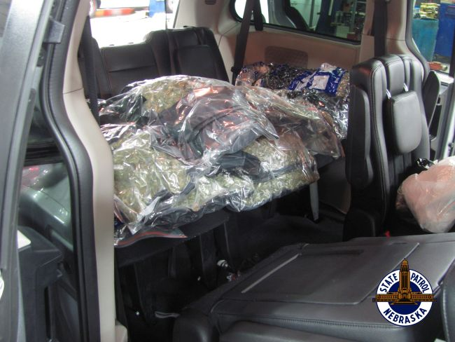 Nearly 150 LBs of Marijuana Seized in I-80 Traffic Stop