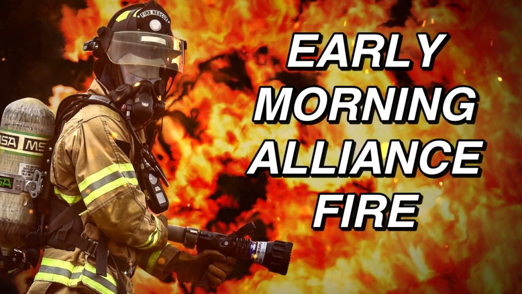 Vitalix building in Alliance destroyed by early morning fire