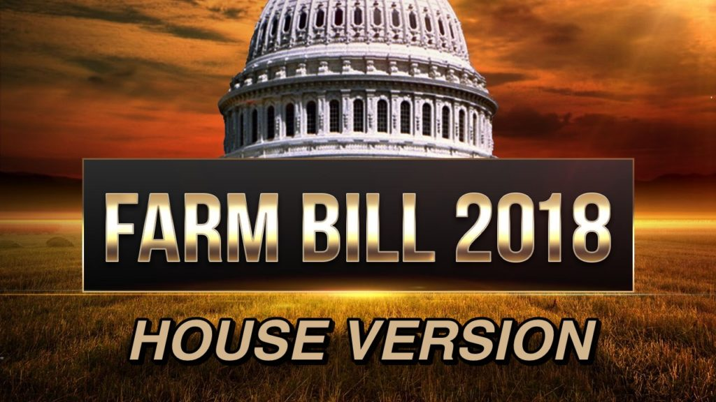 U.S. House passes its version of Farm Bill