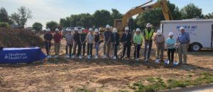 Groundbreaking held for Henderson's new Long Term Care Facility