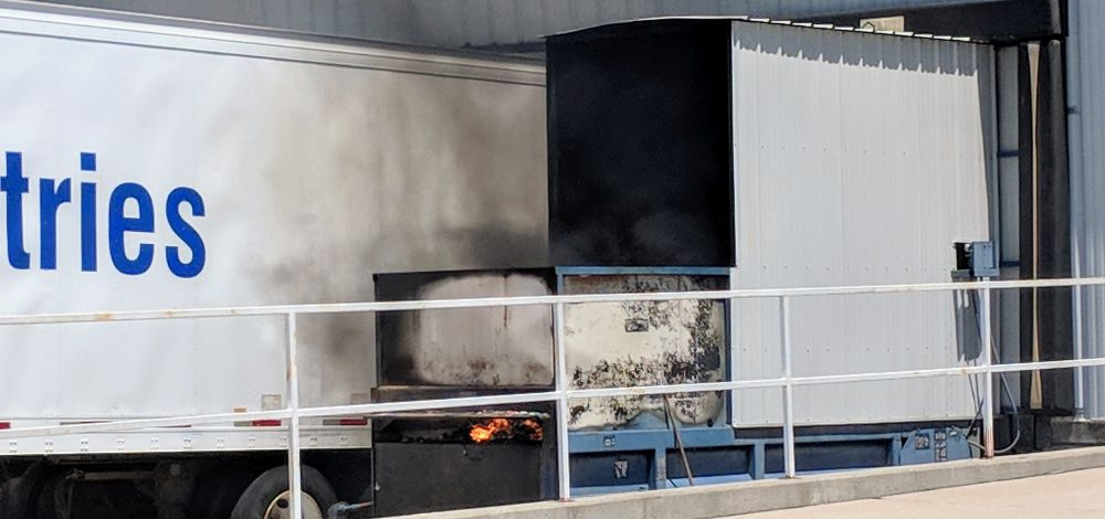 LVFD Responds To Fire At Goodwill