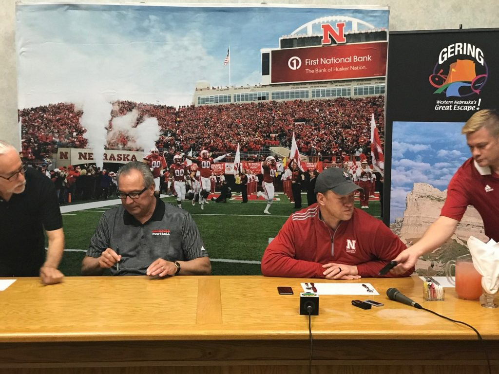 Frost, Moos kick off Husker Nation Tour in Gering