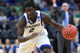 Creighton's Khyri Thomas drafted by Sixers; traded to Pistons