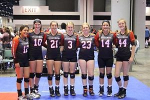 Lexington Volleyball Squad Has Great Run In Florida