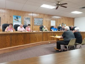 Cozad Care receiver meets with City Council