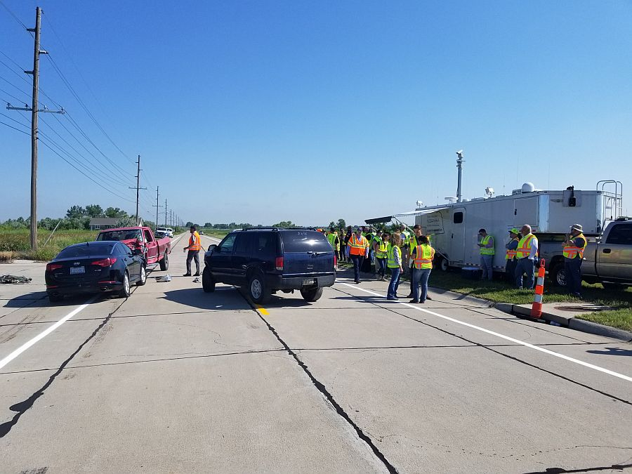 NSP, Others Take Part in Traffic Incident Management Exercise