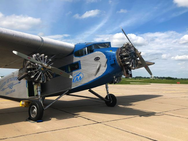 (Audio/Video) 1929 'Tin Goose' flies history into York