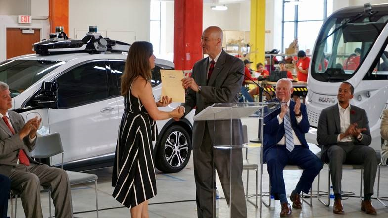 Gov. Ricketts Welcomes Autonomous Vehicle Technology to Nebraska