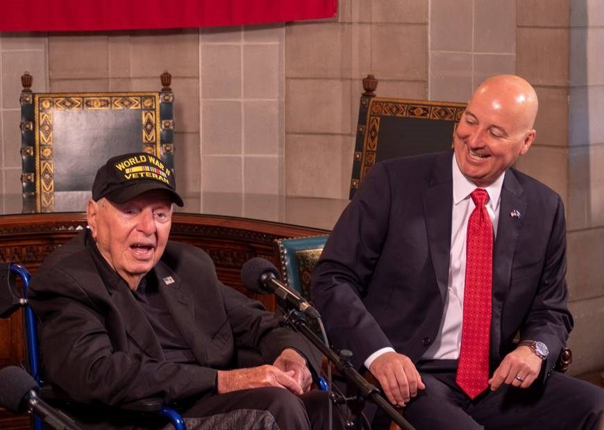 99-year-old WWII Veteran to visit the Panhandle this week