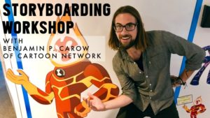 Cartoon Network professional holding workshop at WNAC