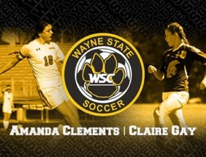 Wayne State Women's Soccer Adds Three to 2018 Recruiting Class