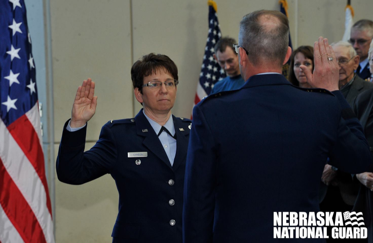 Nebraska Air Guard gets 1st female commander