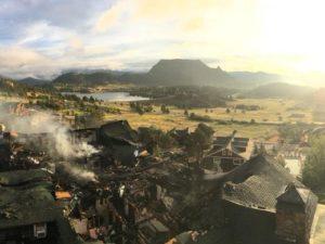 Fire causes estimated $5M damage to Estes Park lodge