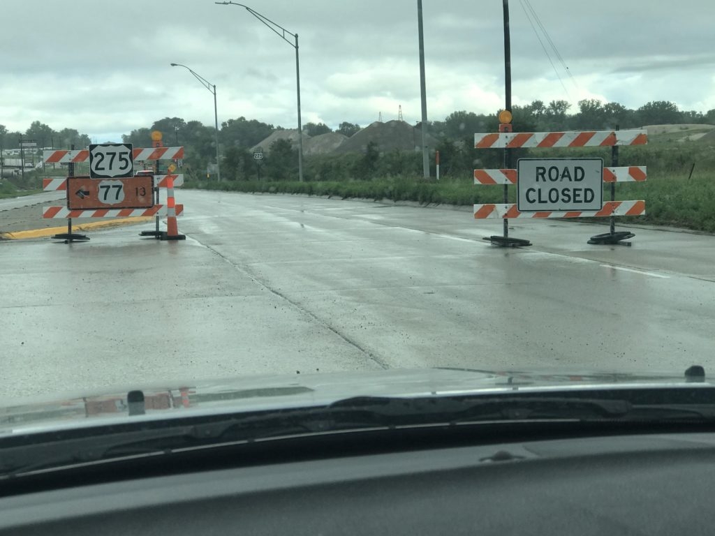 Highway 275 closed again due to Flooding