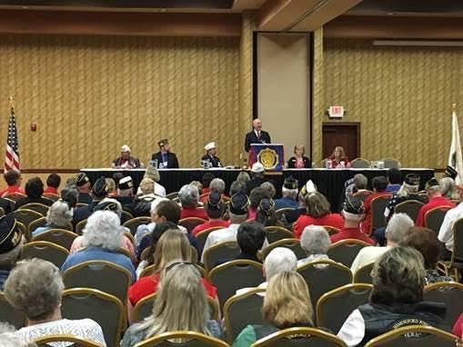 Gov. Ricketts Addresses American Legion Convention in Kearney
