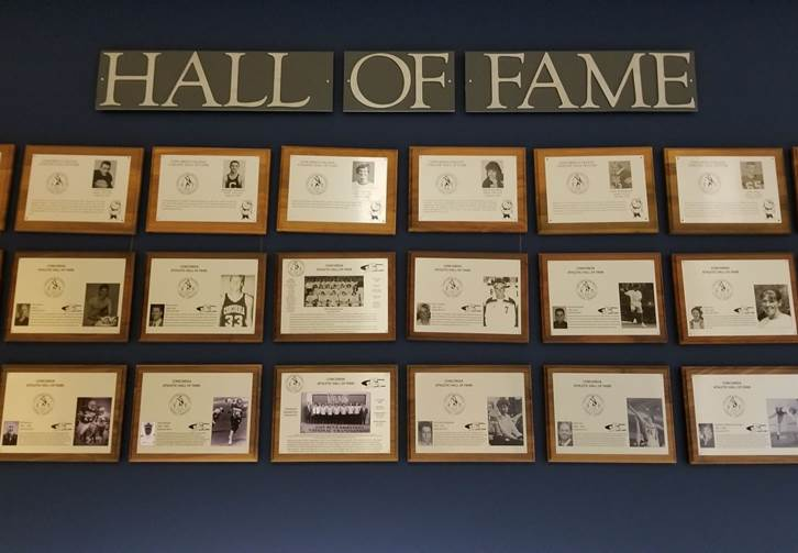 Introducing the 2018 Concordia Athletic Hall of Fame class