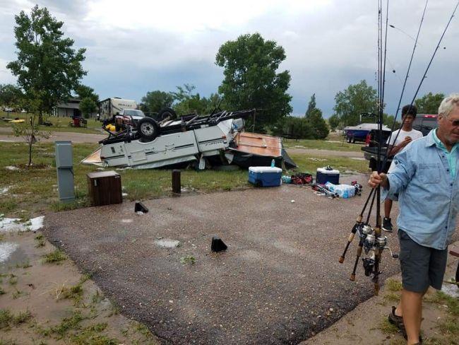 Man killed when storm rolls through western Nebraska