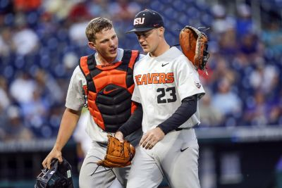 Oregon State hammers Mississippi State at CWS to set up winner take all berth into Championship Series
