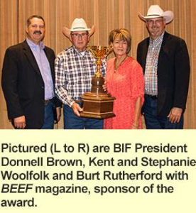 PROTECTION RANCH WINS NATIONAL HONOR