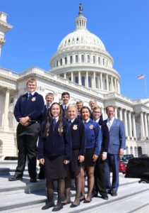 Smith Welcomes Gothenburg, Sargent, and Ord FFA Students to U.S. Capitol