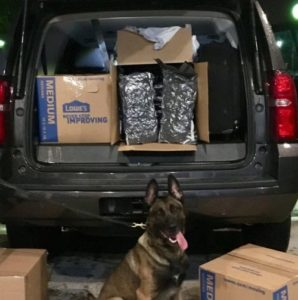 168 LBs of Marijuana Seized in Two Hamilton County Traffic Stops