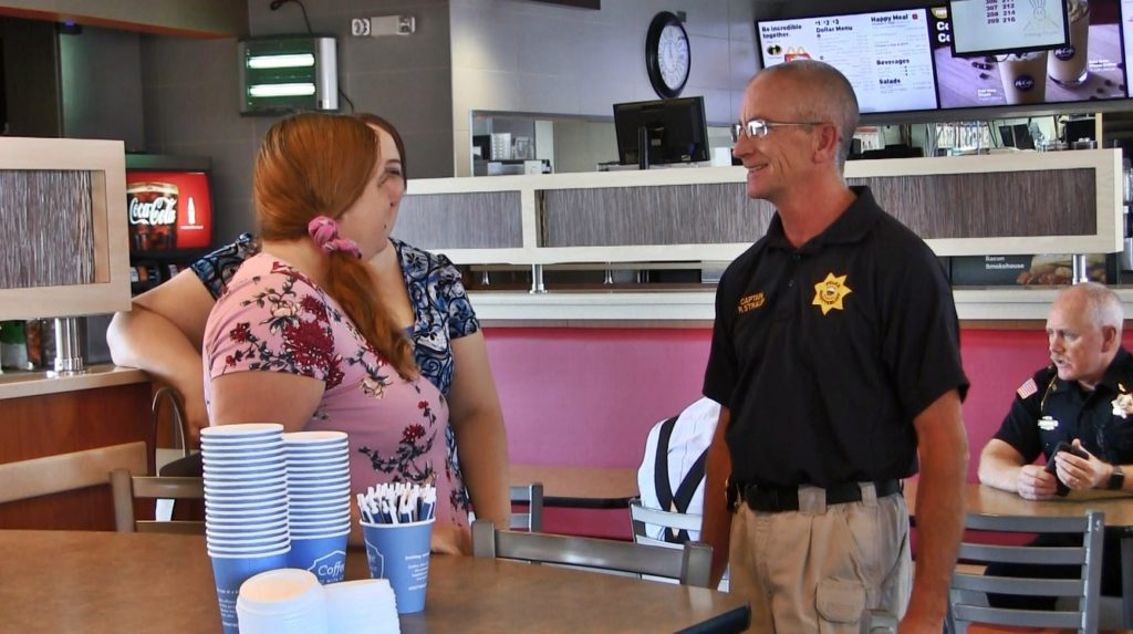 4th Coffee with a Cop all about accessibility