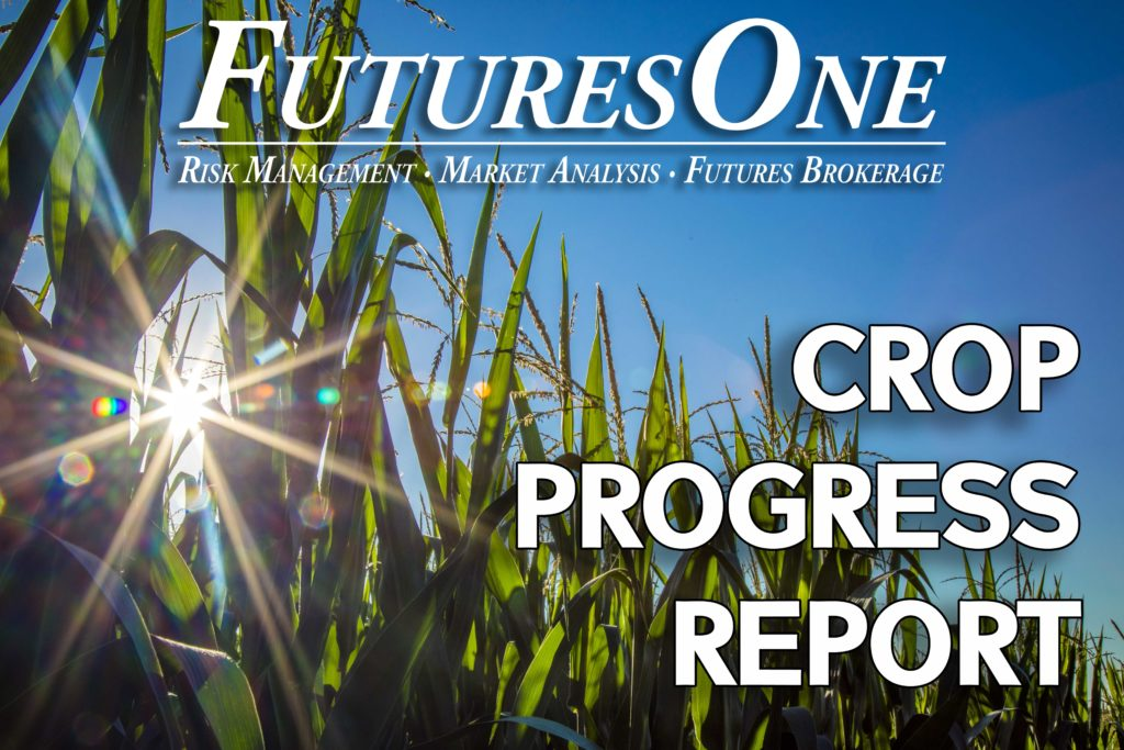 Futures One Crop Progress Report Corn, Soybean Development Well Ahead of Normal