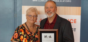 CSC athletic trainer honored by his profession
