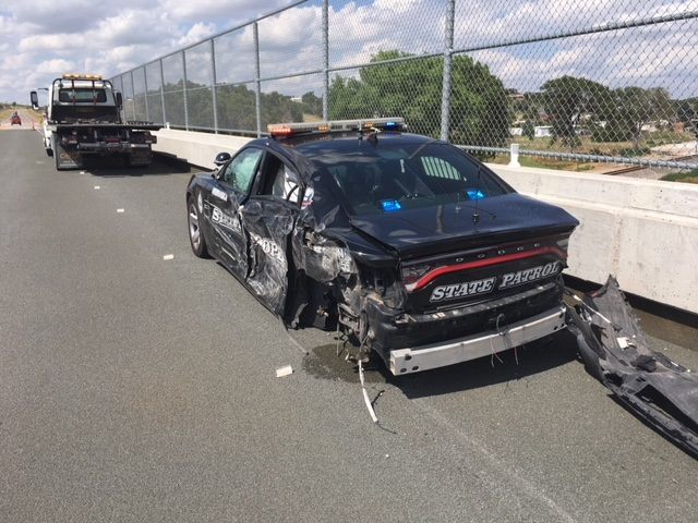 Third NSP Cruiser Hit in the Last Month