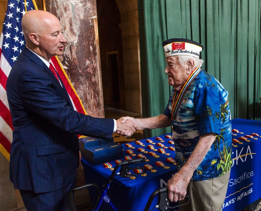 Gov. Ricketts Honors Veterans on National Korean War Veterans Armistice Day