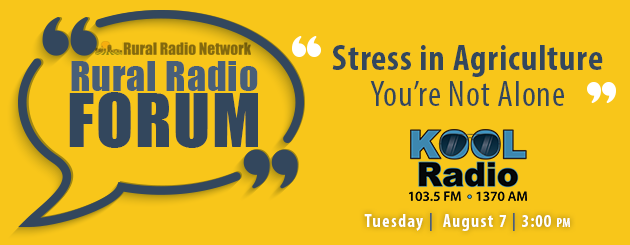Rural Radio Forum - Stress in Agriculture
