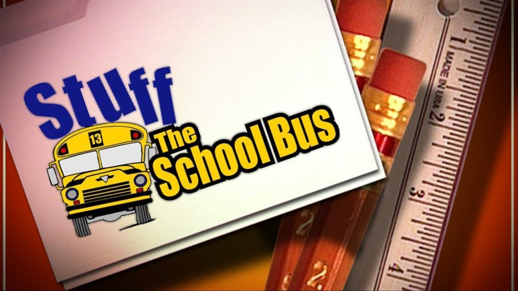 """Stuff the Bus""school supply campaign underway"