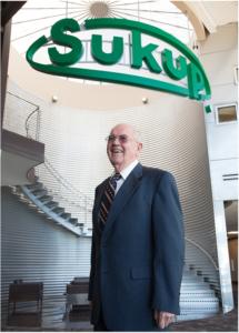 Grain Bin Company Founder Eugene Sukup Dies at 89