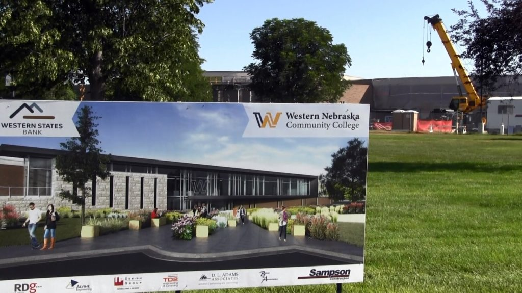 WNCC construction on schedule for mid summer 2019 completion
