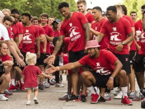 Huskers Run For Great Cause