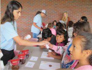 Program has teens as teachers for elementary students