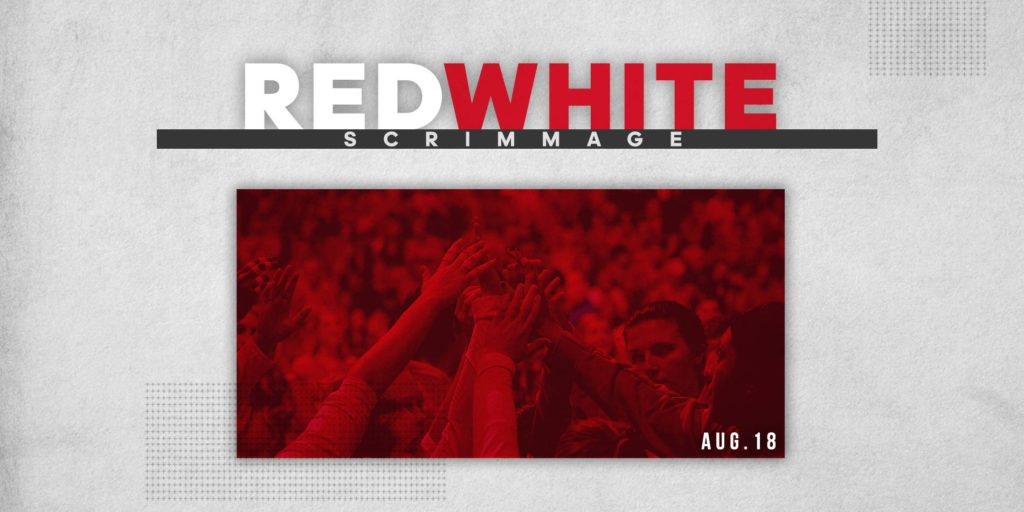 Red/White Scrimmage Tickets On Sale July 9