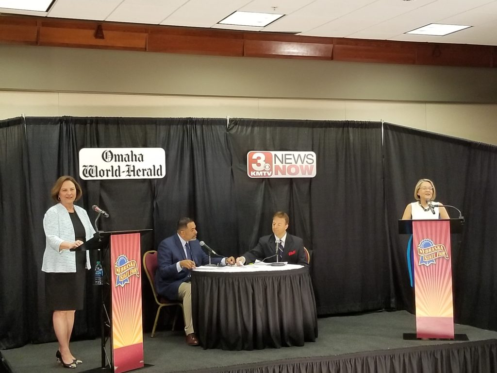 U.S. Senate Debate held at Ne State Fair