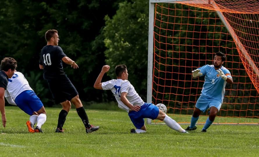 Men's Soccer: York outlasts Doane in physical matchup
