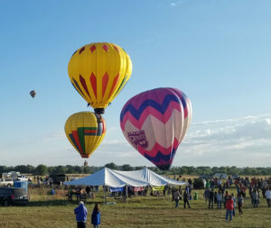 Excitement of  Old West Balloon Festival coming this weekend