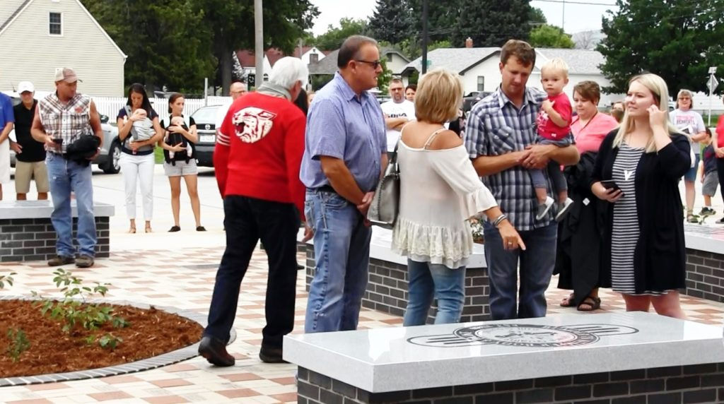 Bearcat Pride Plaza unveiled at Scottsbluff High School