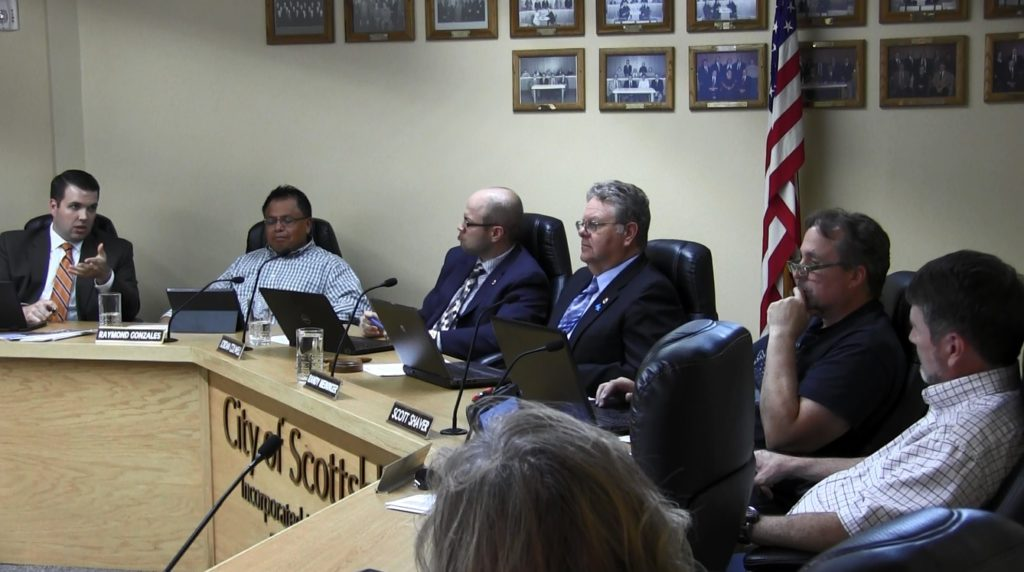 Bluffs council delays action on sales tax ballot measure