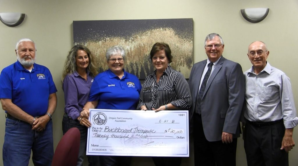 Buckboard Academy Receives Two Donations Tuesday