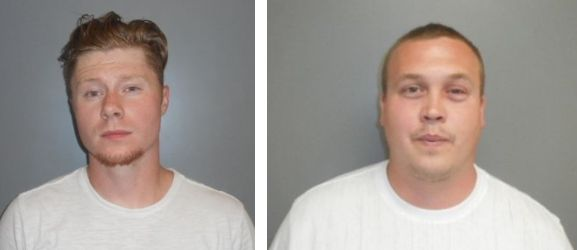 Traffic stop nets 94 lbs. of pot & two arrests