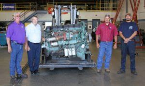 Volvo Trucksdonates engine to North Platte Community College
