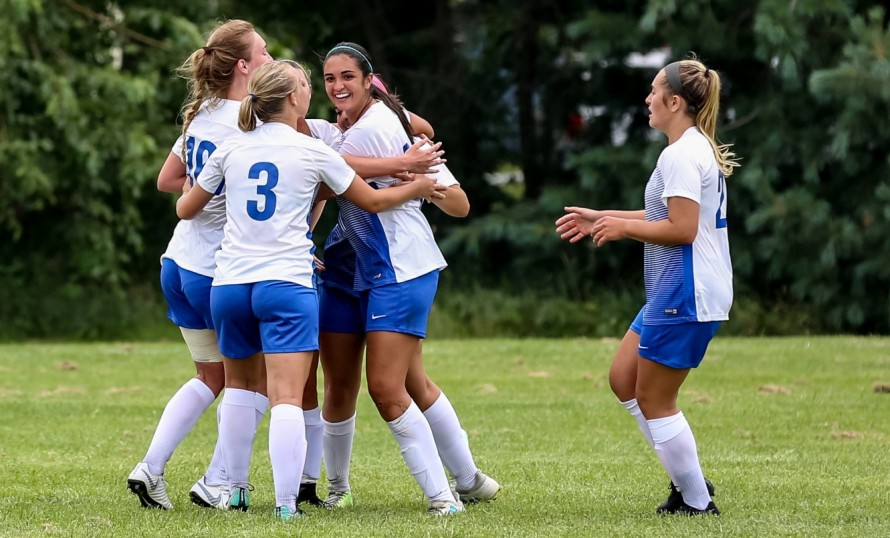 Women's Soccer: Panthers dominate Tigers in 2-1 win
