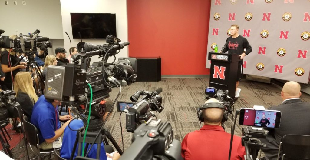 (VIDEO) Scott Frost addresses the media (Oct 8, 2018)