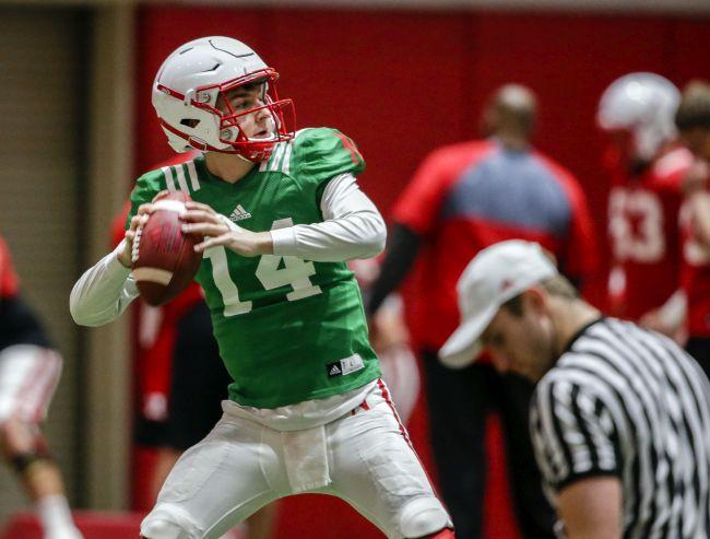 Frost says QB Tristan Gebbia granted release from Nebraska