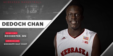Husker Men Add Junior College Forward