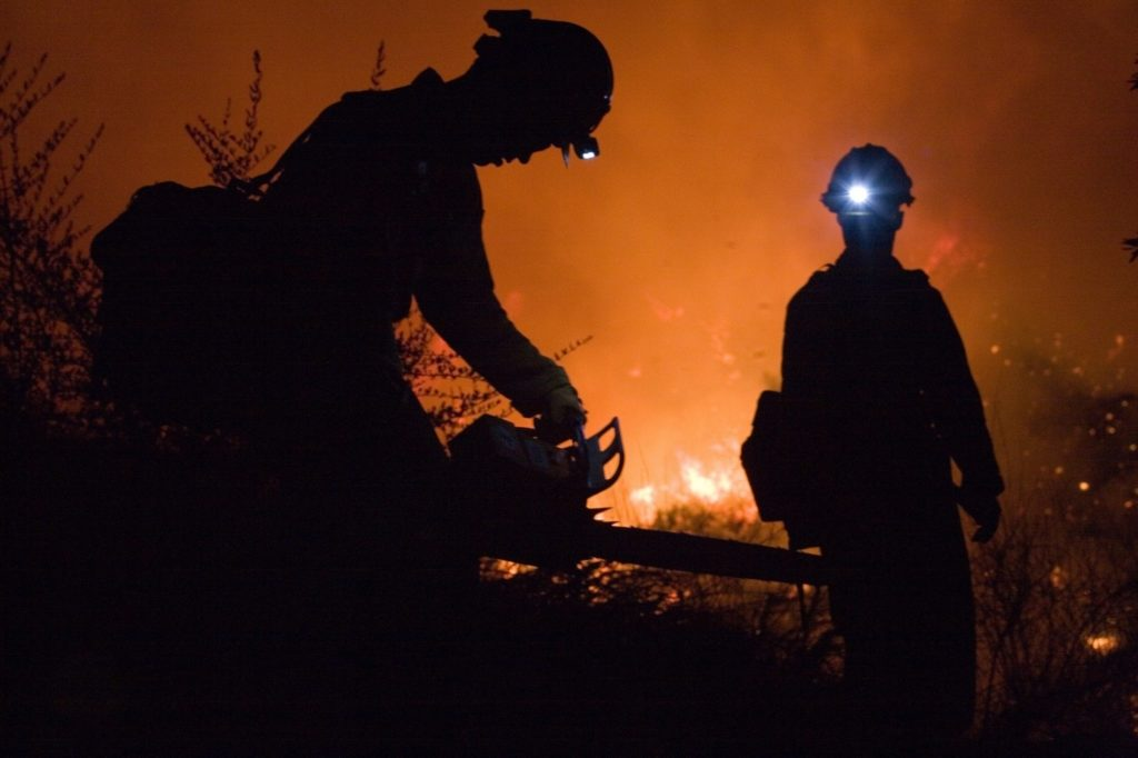 More containment on Wheatland fire